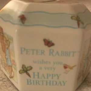 Peter Rabbit Hexagon coin piggy bank